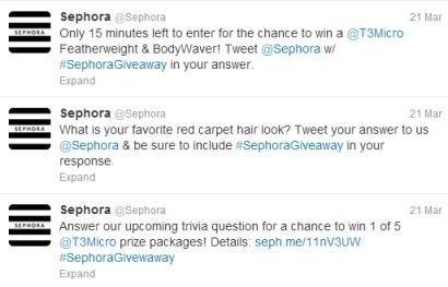 sephora tweets