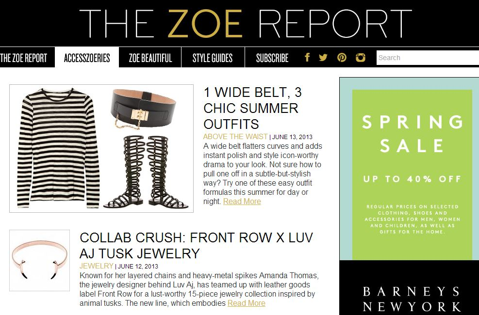 Top fashion designers make content marketing this year s The zoe report